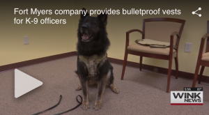Survival Armor Provides Bulletproof Vests For K-9 Officers
